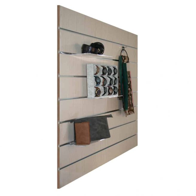 slatwall wit essen 15cm met attributen