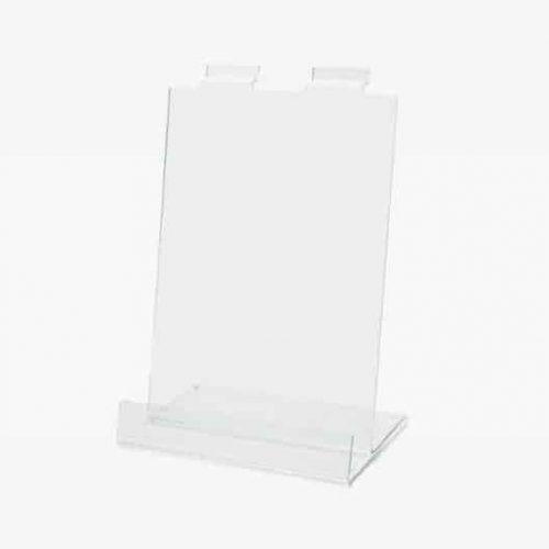 Acryl display Slatwall 21x31