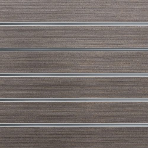 Slatwall wandpaneel Donker Eiken 15cm