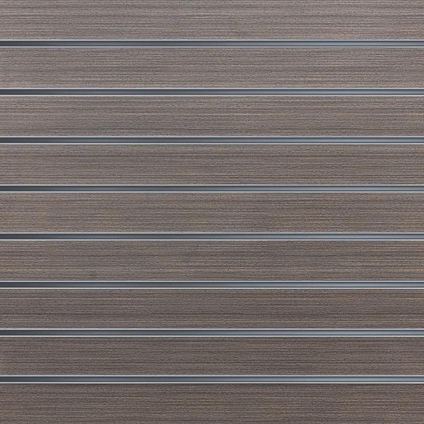 Slatwall wandpaneel Donker Eiken 10cm