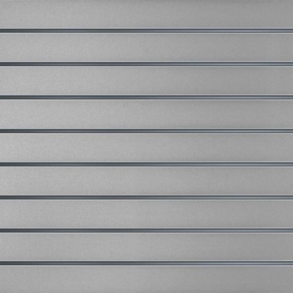 Slatwall wandpaneel Grijs 10cm