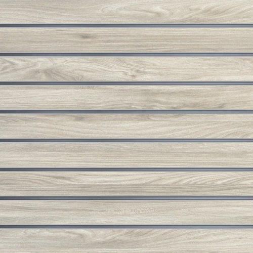 Slatwall wandpaneel Nieuw Eiken 10cm