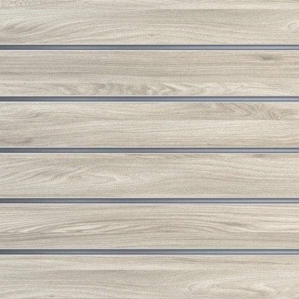 Slatwall wandpaneel Nieuw Eiken 15cm