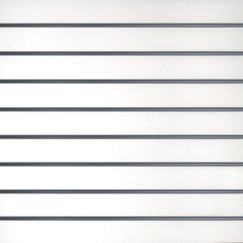 Slatwall wandpaneel Wit 10cm