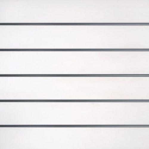 Slatwall wandpaneel Wit 15cm