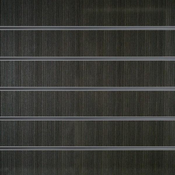 Slatwall wandpaneel Antraciet Houtnerf 15 cm