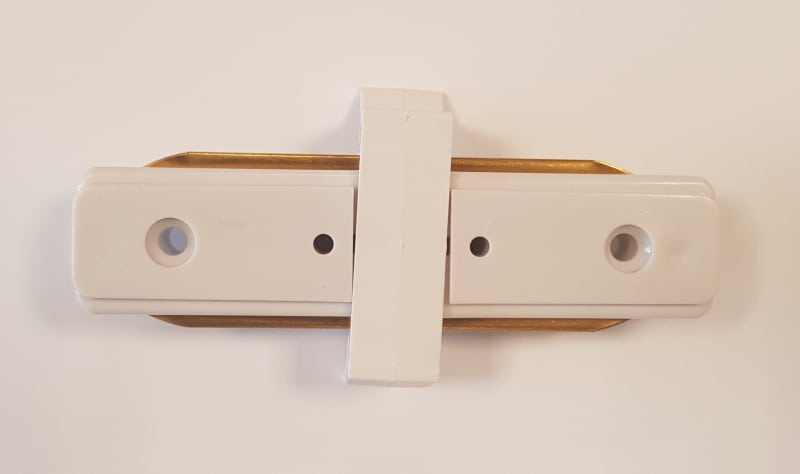Connector t.b.v. LED rail recht