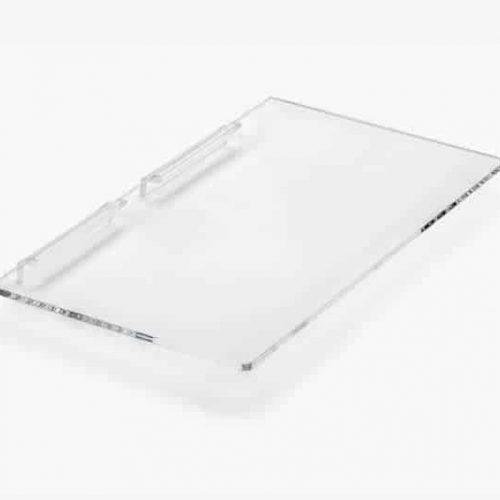 Acryl Presentatieschap Slatwall 30x16