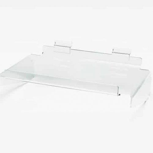 Acryl Presentatieschap Slatwall 30x16cm