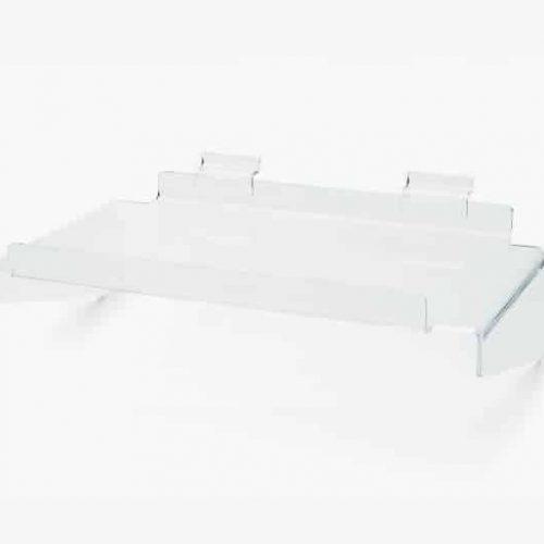 Acryl Presentatieschap Slatwall 42x28