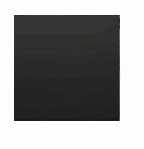 Gelamineerd MDF paneel 120x120cm Zwart