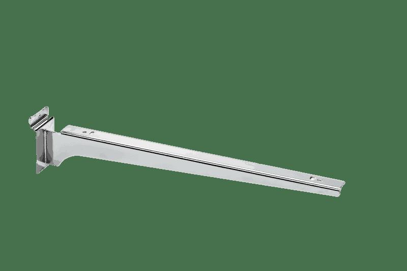 Slatwall Schapdrager Chroom 20cm