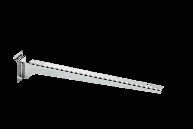 Slatwall Schapdrager Chroom 40cm